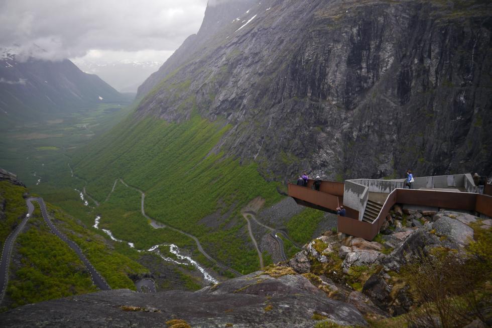 Смотровая на Trollstigen