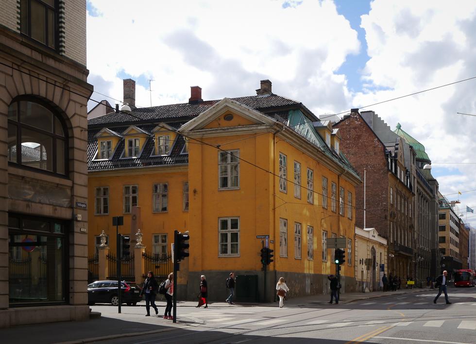 Желтый домик в Осло