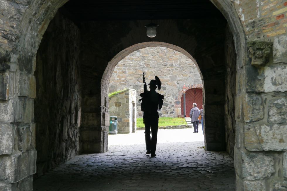 Охрана крепости