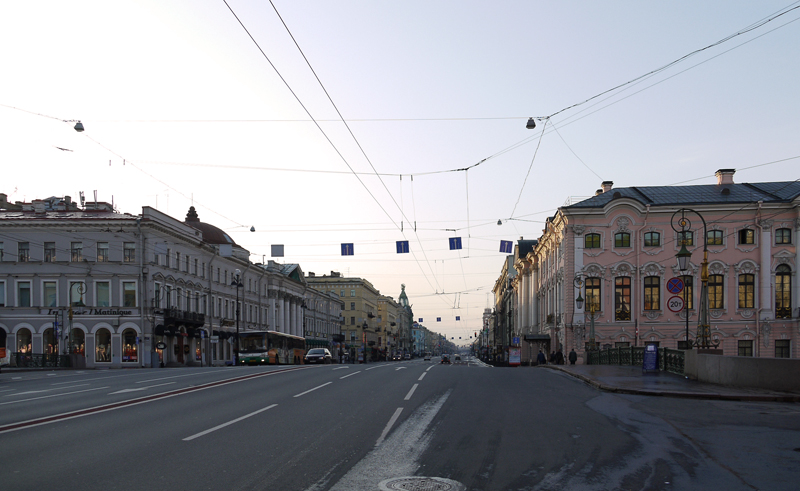 Утренний Невский