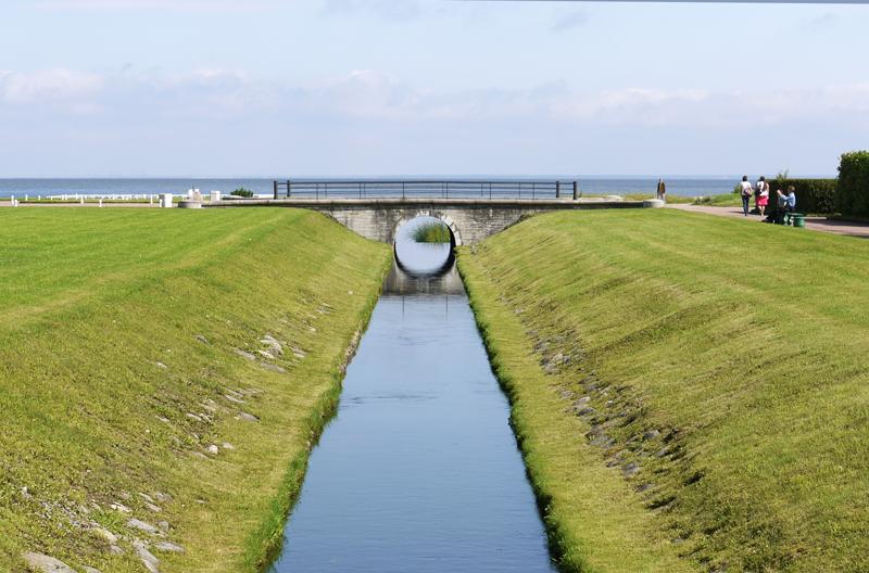 Канал в Петергофе