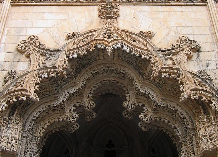 Баталья. Резьба по камню в недостроенной капелле храма