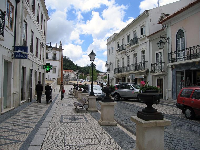 Улица Алькобасы. Вид на площадь