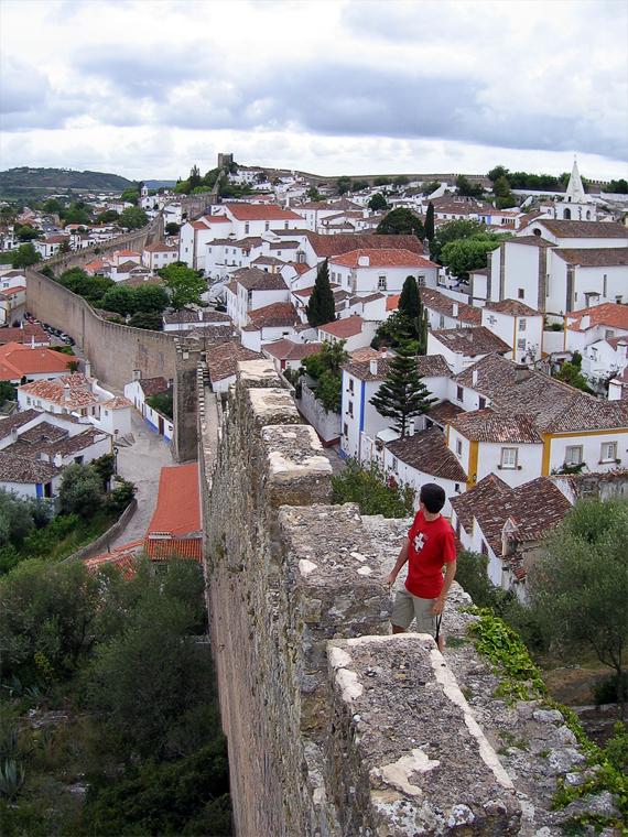 Городская стена Обидуша