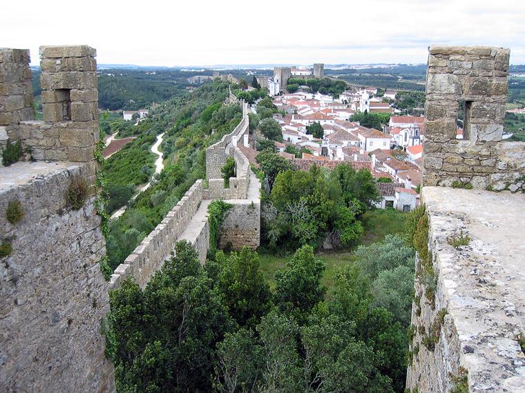 Вид на город со стены
