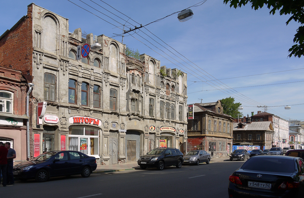 Дом в стиле модерн в Нижнем Новгороде