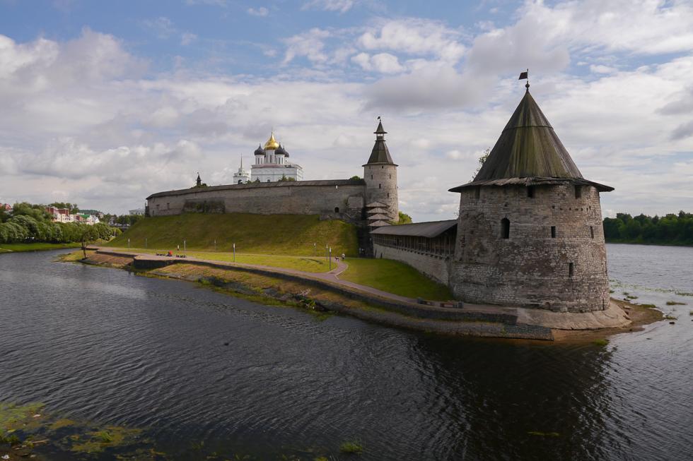 Открытка из Пскова