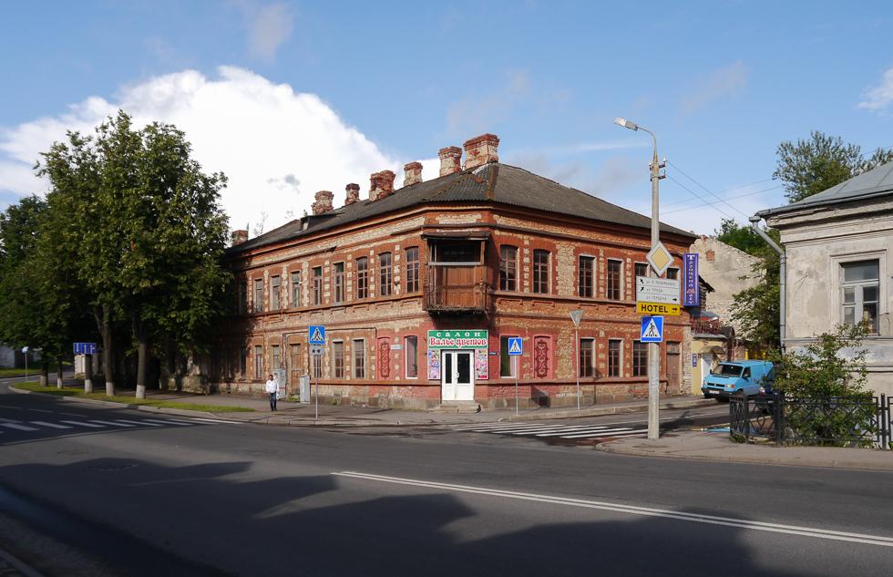 Старый дома в городе
