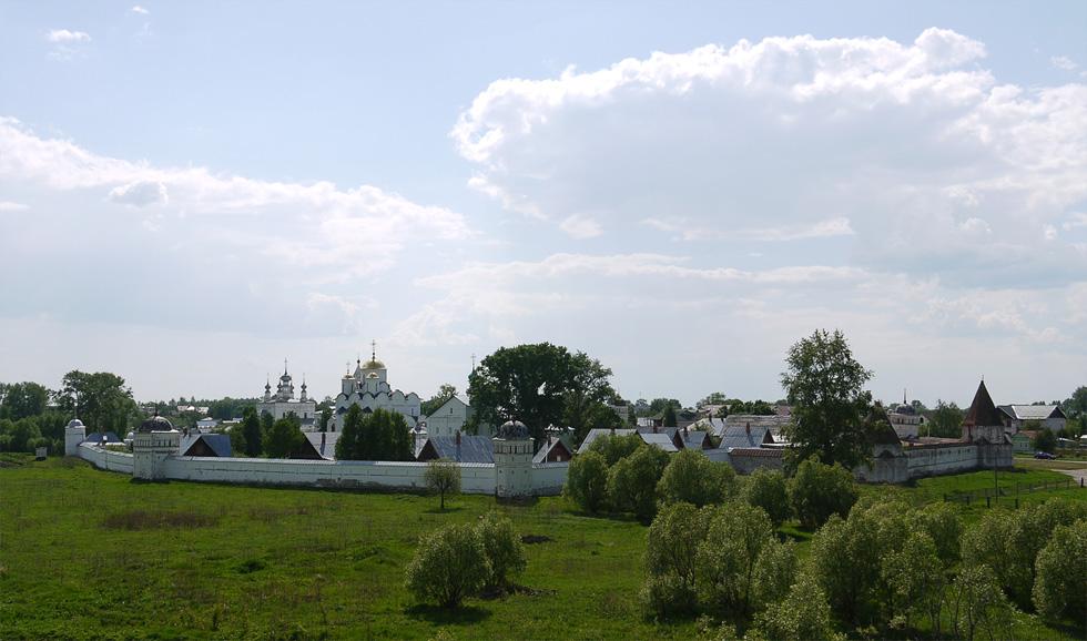Суздаль, Покровский монастырь.