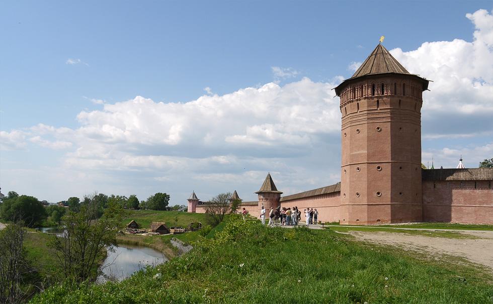 Суздаль, Спасо-Евфимиев монастырь.