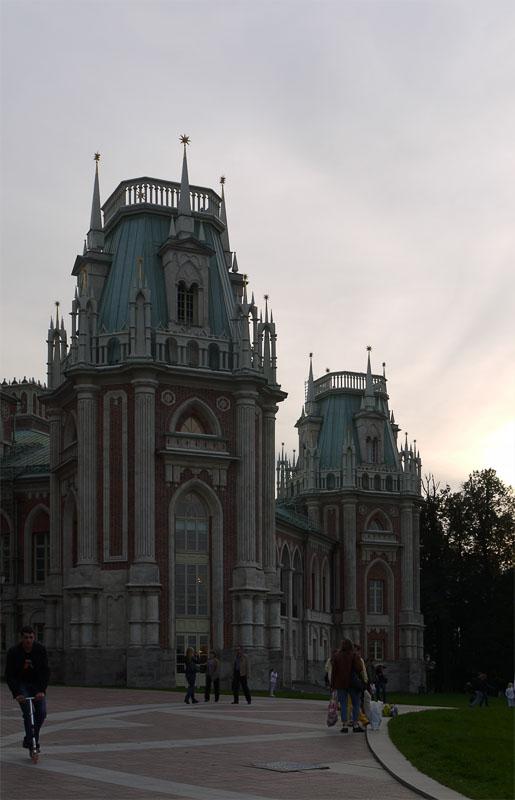 Башни Большого дворца Царицыно
