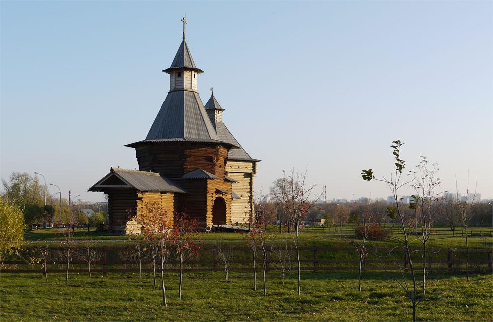 Деревянное городище в Коломенском