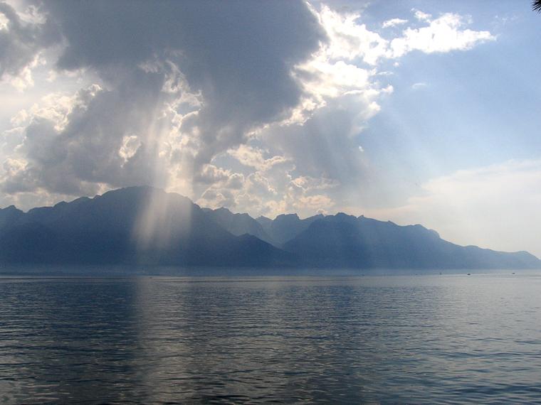 Еще один вид на женевское озеро