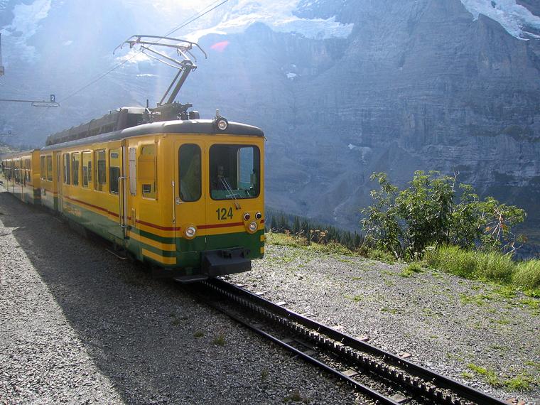 Зубчатая железная дорога и зубчатый поезд