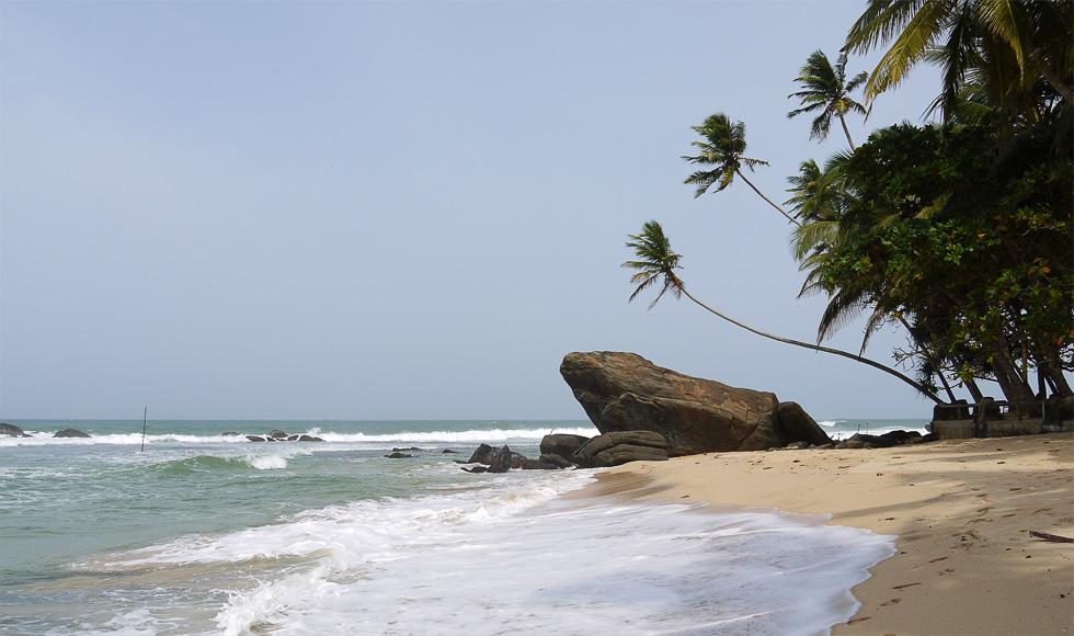 Пляж рядом с Унаватуной