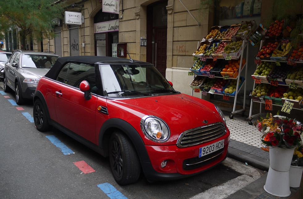 Mini Cooper в Сан-Себастьяне