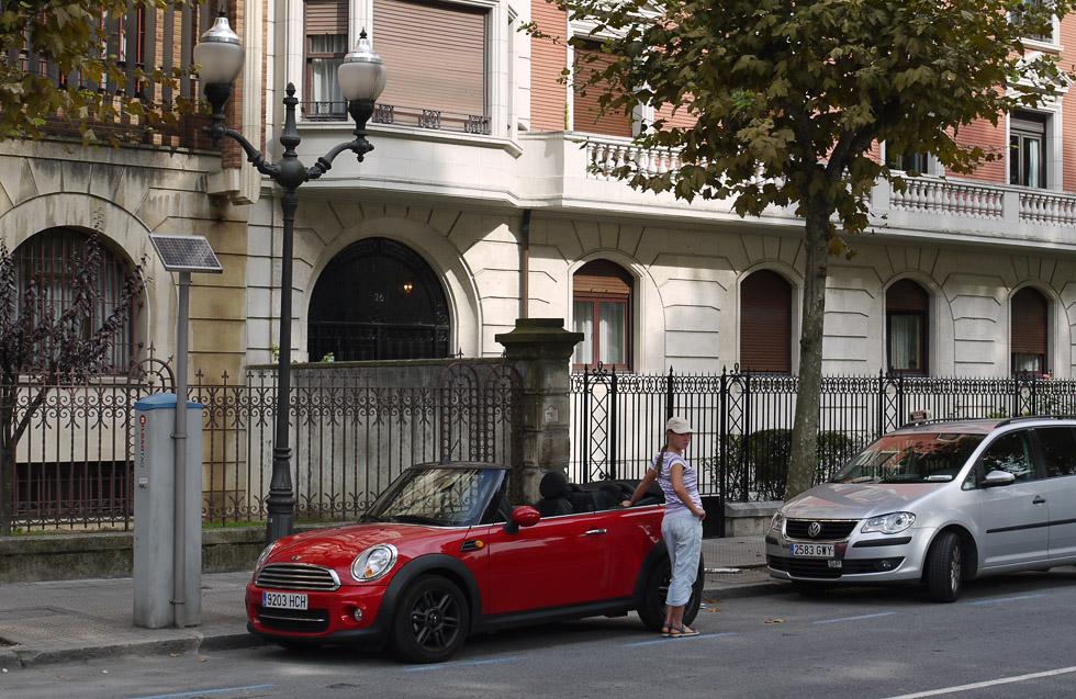 Mini Cooper в Бильбао