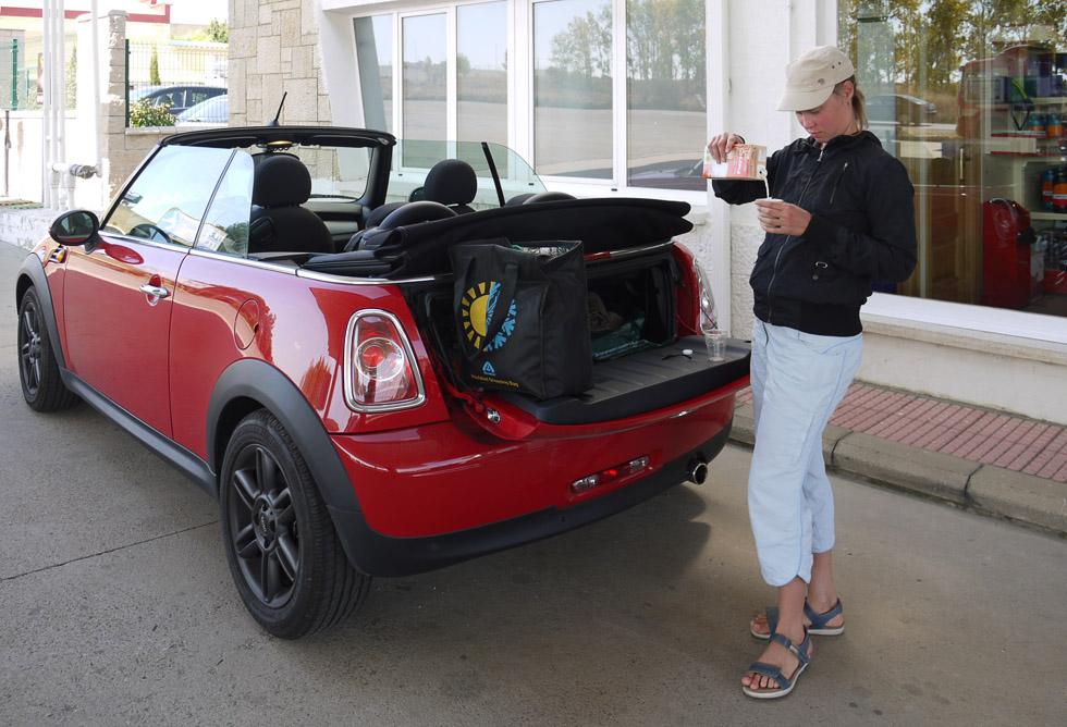 Багажник Mini Cooper