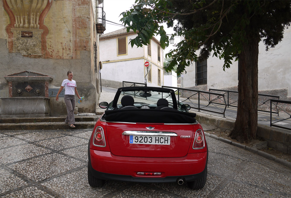 Mini Cooper в Гранаде