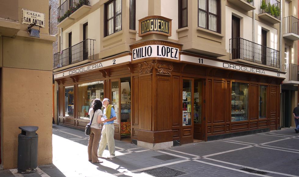 Аптека в Памплоне
