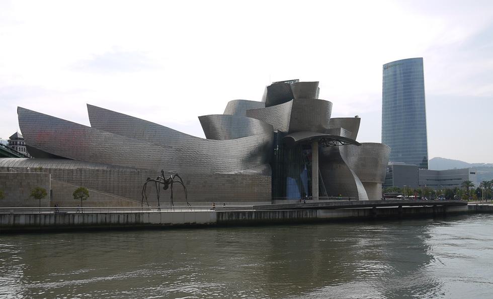 Музей современного искуства в Бильбао