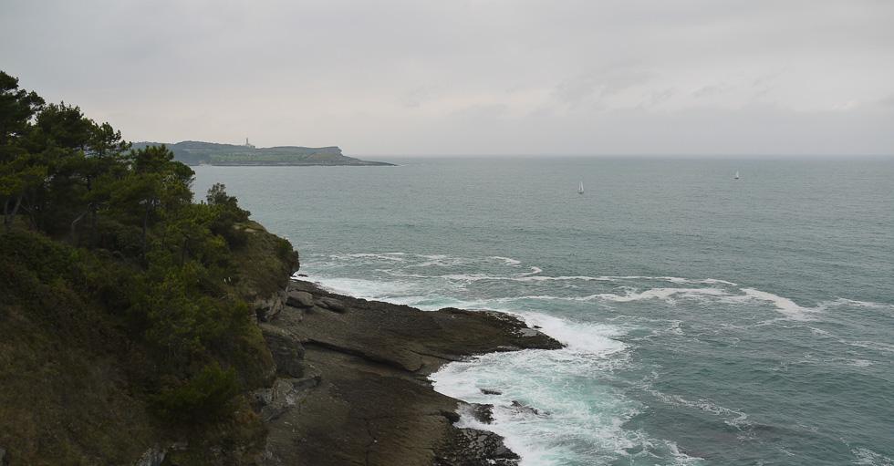 Вид на Атлантический океан