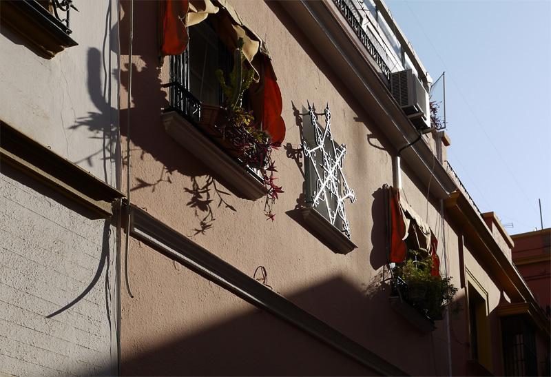 Решетка на окне в Севилье