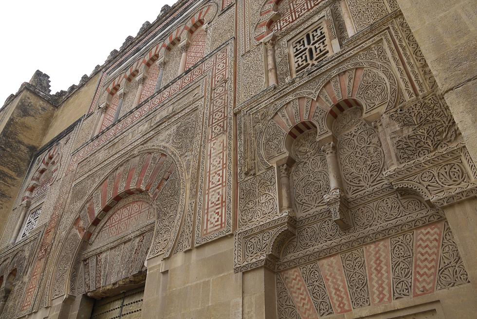 Резьба мечети в Кордове