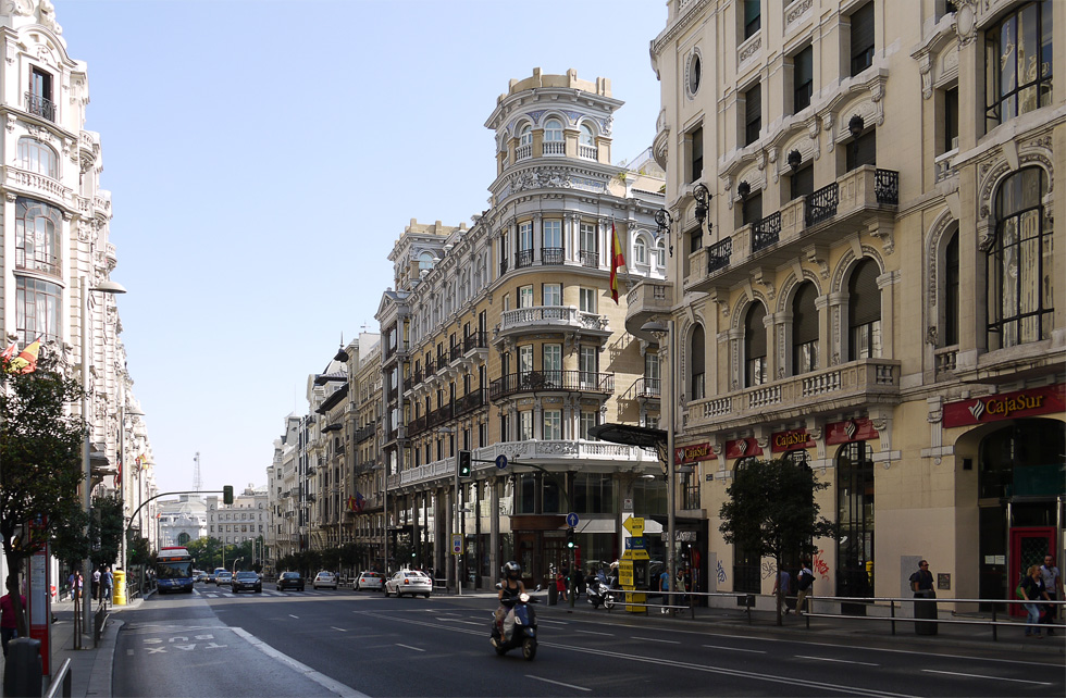 Мадрид улицы фото