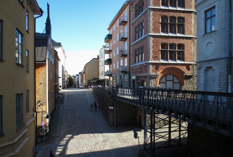 Мост над улицей Bastugatan
