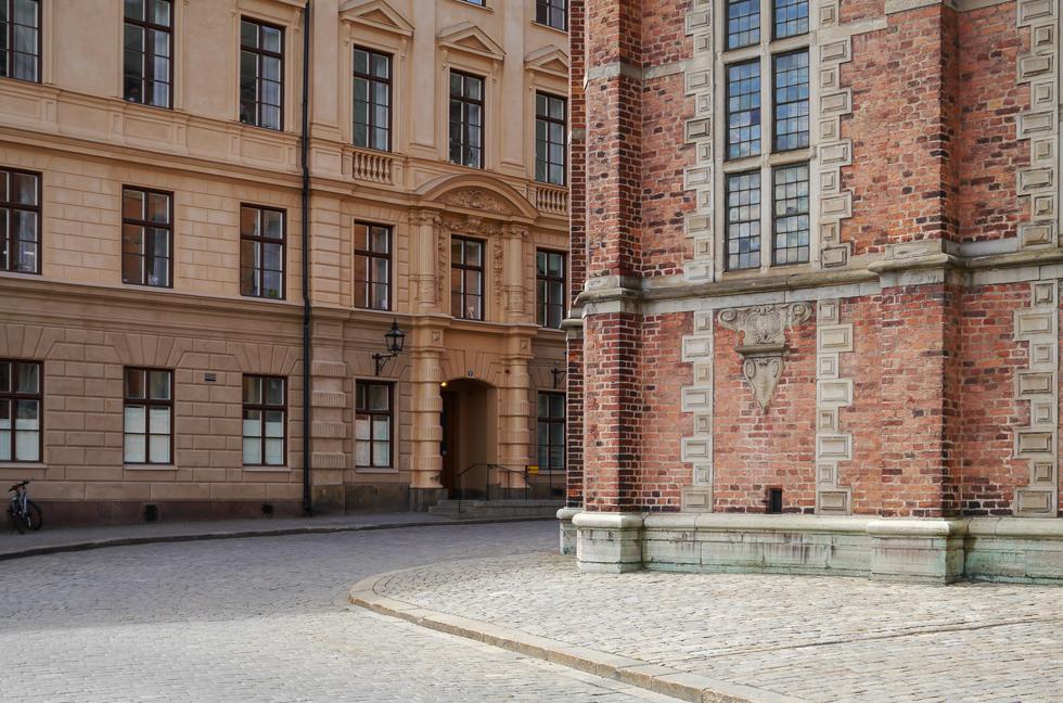 Улица рядом с королевским дворцом