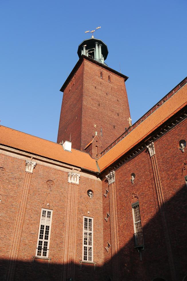 Башня городской ратуши Стокгольма