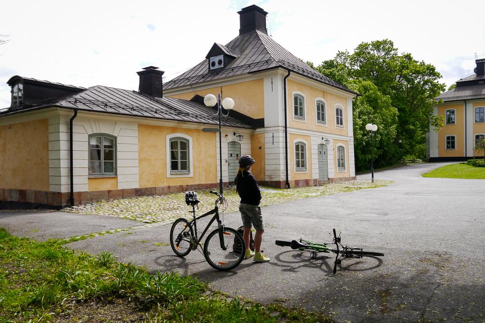 Небольшой замок в пригороде Стокгольма
