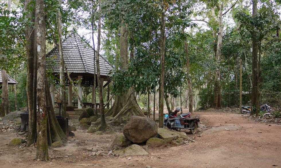 Место для пикника в национальном парке Као-Камао