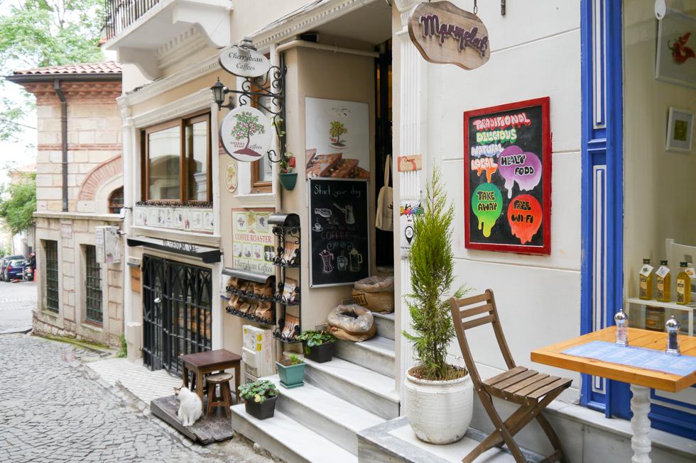 Туристическое место Стамбула