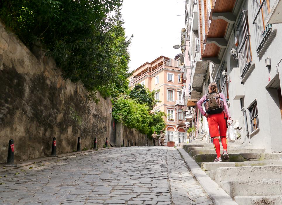 Крутая улица Галаты