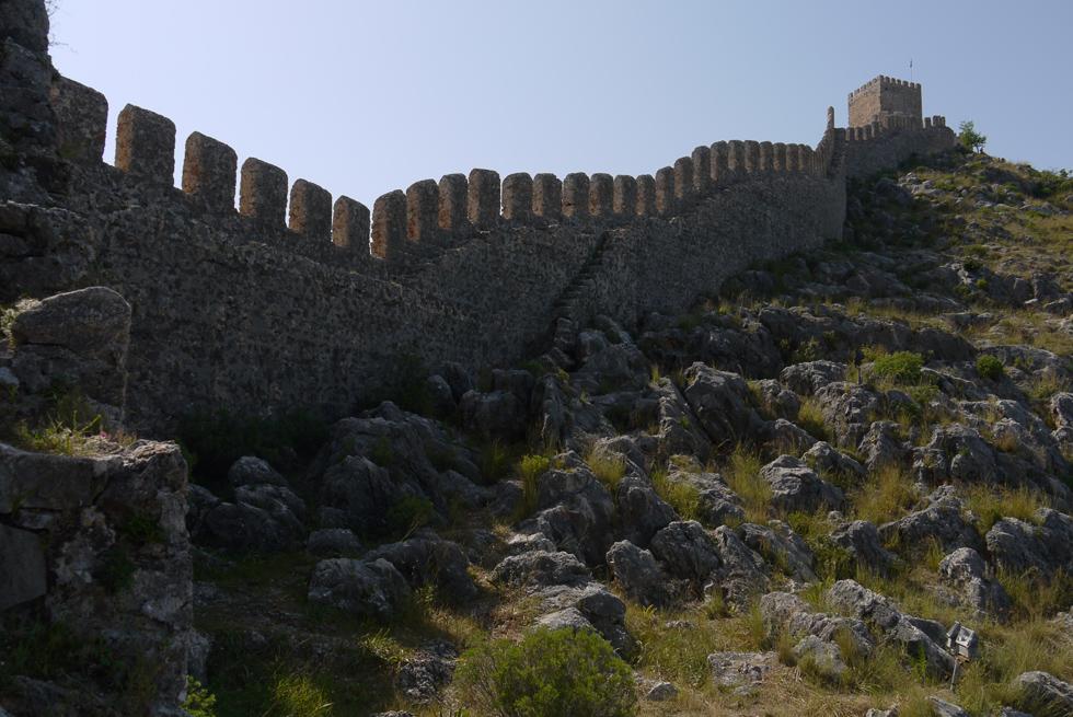 Стены крепости Аланьи
