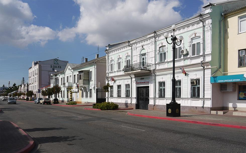 Улица Керчи в центре города