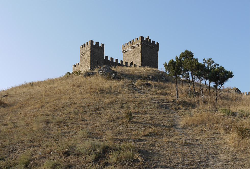 Бастион Судакской крепости