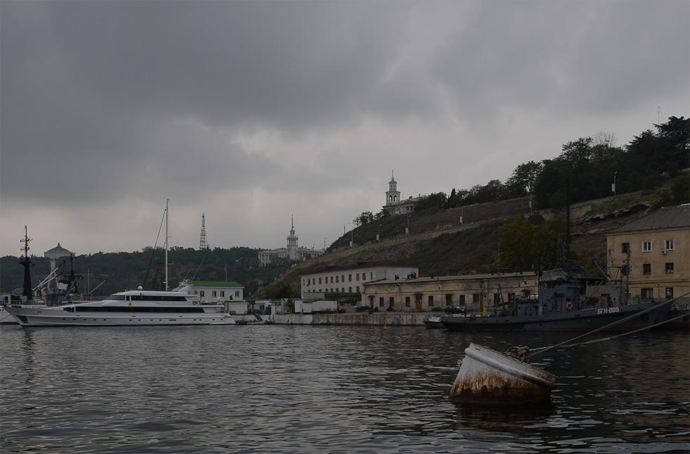 Севастополь со стороны моря.