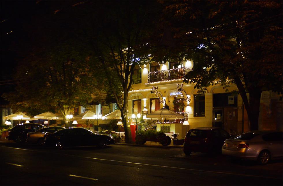 Ночной ресторан в Одессе