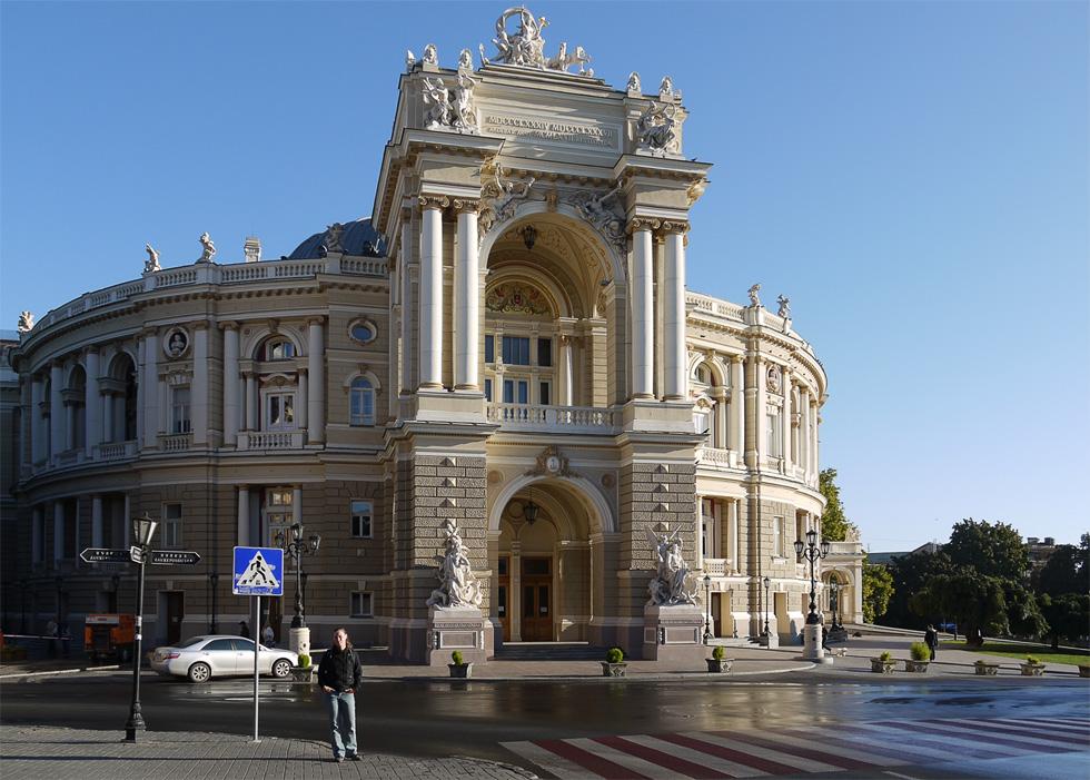 Здание оперы в Одессе