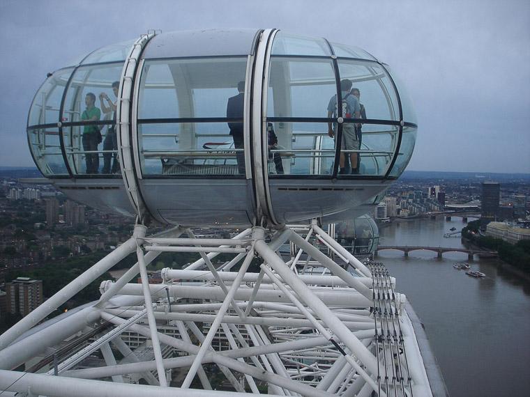 Eye of London. Гигантское колесо обозрения, с которого всё видно