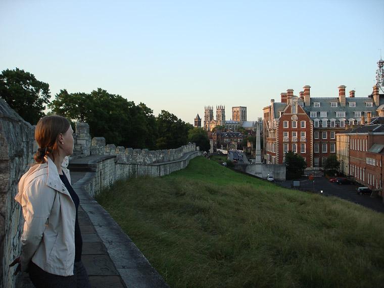 Городская стена в Йорке