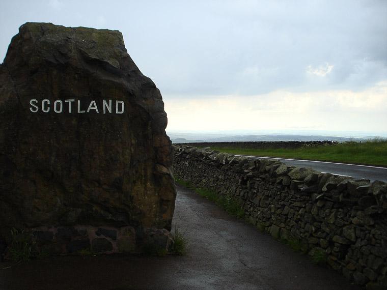 Граница Англии и Шотландии
