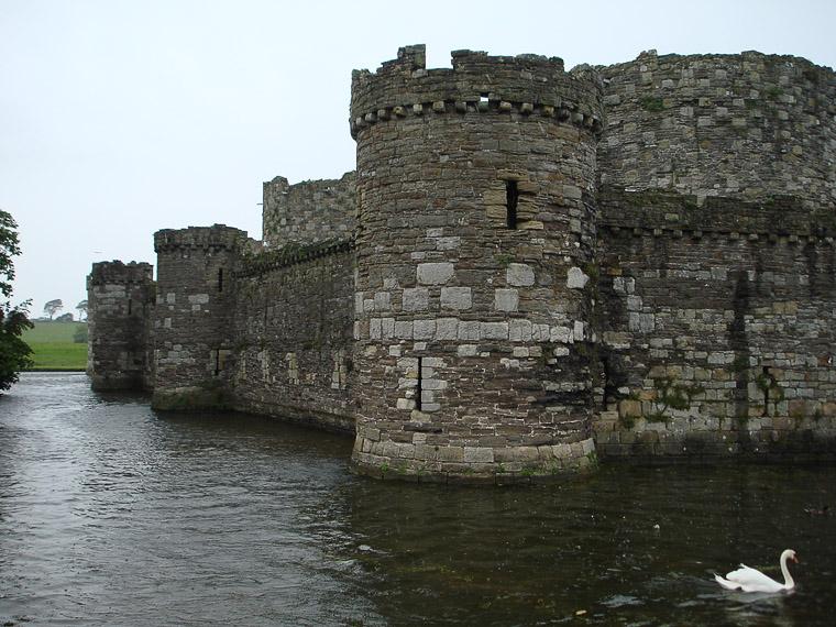 замок Бомарис, никогда не