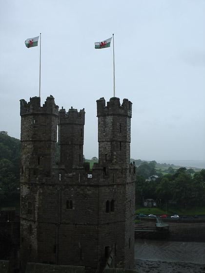 Замок Карнафон. Самый большой замок Уэльса