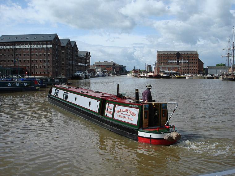 Глостер. Английский способ передвигаться по воде