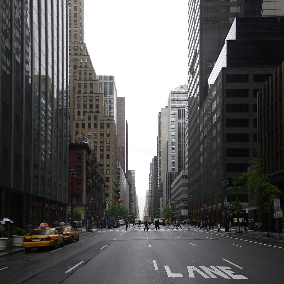 Авеню на Манхеттене.