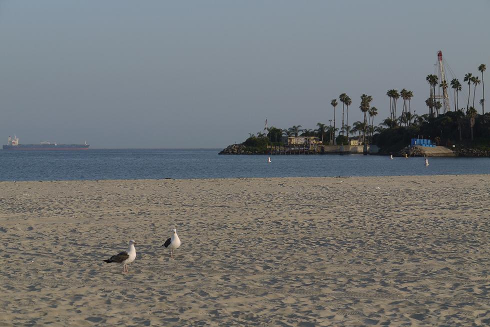 Район Лонг бич (Long Beach).